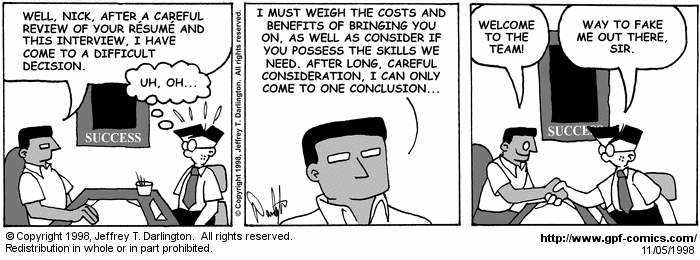 [Comic for Thursday, November 5, 1998]