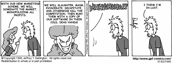 [Comic for Saturday, January 2, 1999]