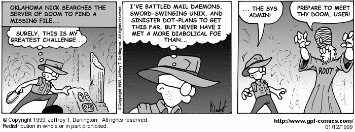 [Comic for Tuesday, January 12, 1999]