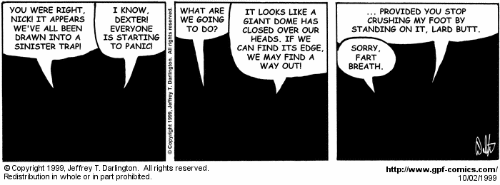 [Comic for Saturday, October 2, 1999]