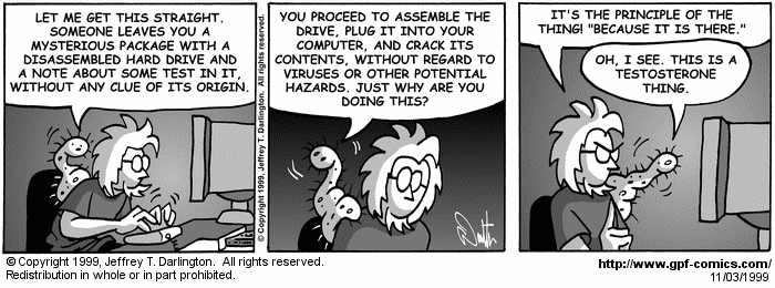 [Comic for Wednesday, November 3, 1999]