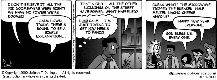 [Comic for Saturday, January 1, 2000]