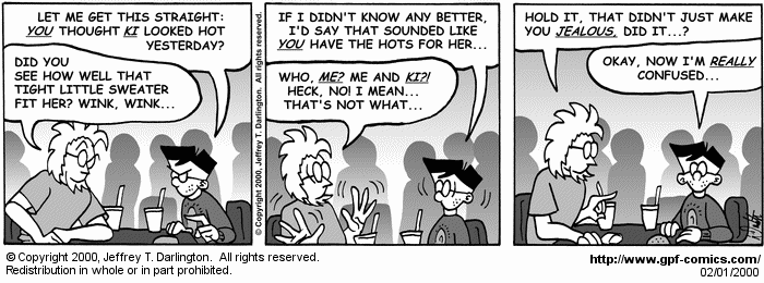 [Comic for Tuesday, February 1, 2000]