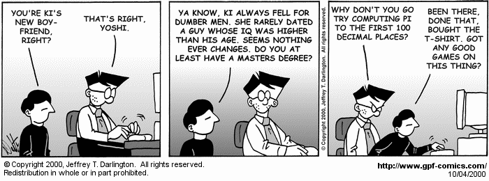 [Comic for Wednesday, October 4, 2000]