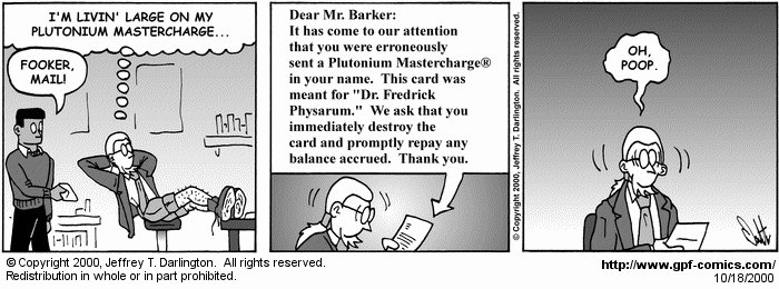 [Comic for Wednesday, October 18, 2000]