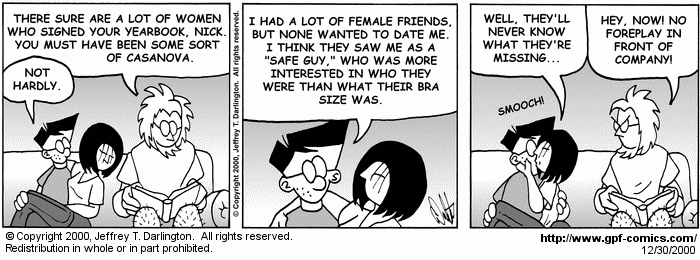 [Comic for Saturday, December 30, 2000]