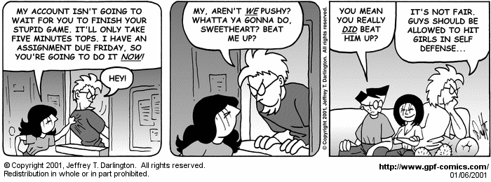 [Comic for Saturday, January 6, 2001]