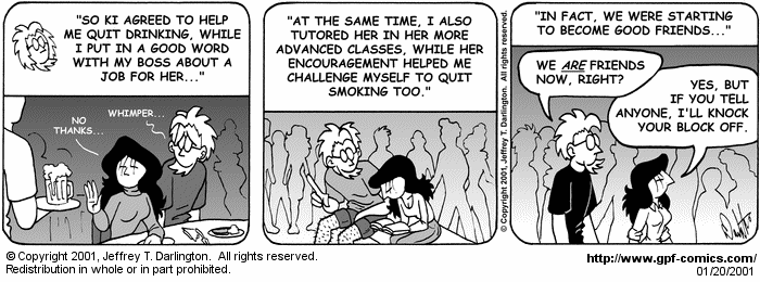 [Comic for Saturday, January 20, 2001]