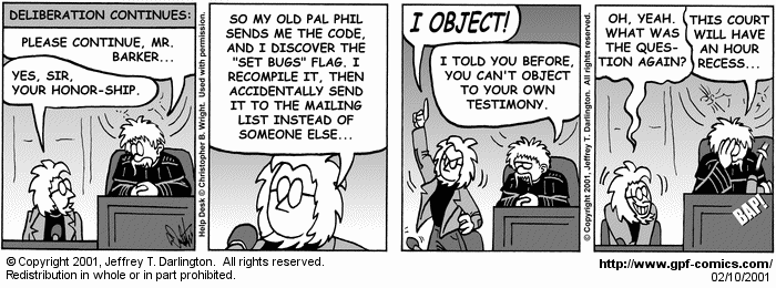 [Comic for Saturday, February 10, 2001]