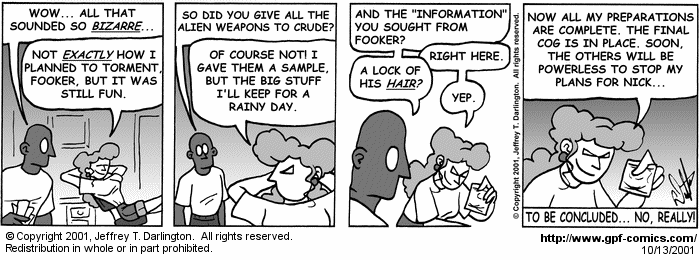 [Comic for Saturday, October 13, 2001]