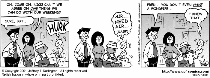 [Comic for Saturday, October 27, 2001]