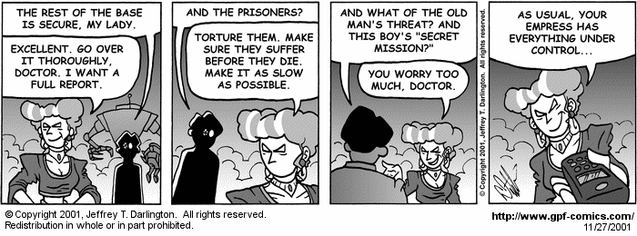 [Comic for Tuesday, November 27, 2001]