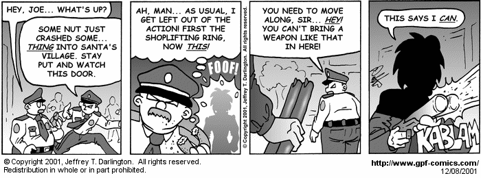 [Comic for Saturday, December 8, 2001]
