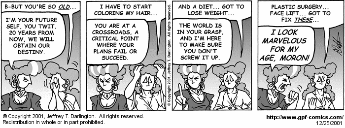 [Comic for Tuesday, December 25, 2001]