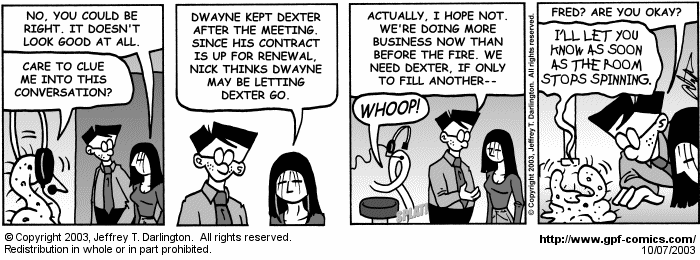[Comic for Tuesday, October 7, 2003]