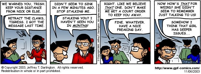 [Comic for Thursday, November 6, 2003]
