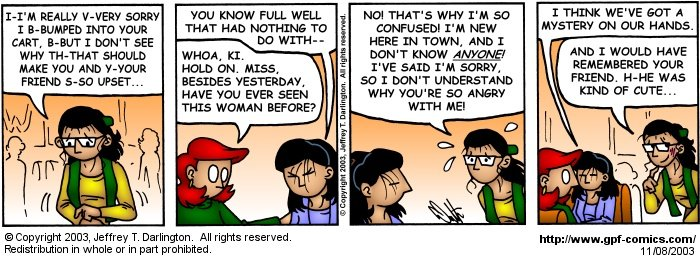 [Comic for Saturday, November 8, 2003]