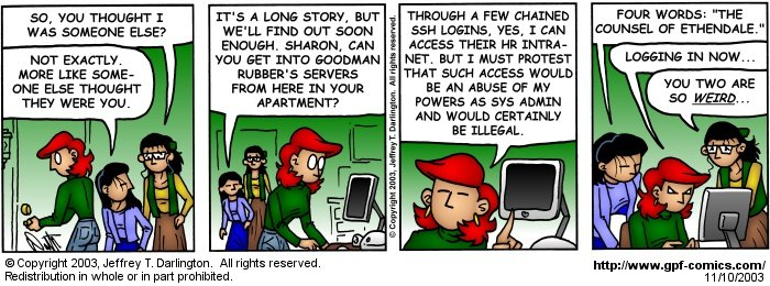 [Comic for Monday, November 10, 2003]