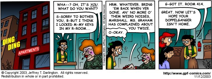 [Comic for Wednesday, November 12, 2003]