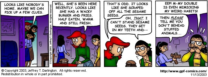 [Comic for Thursday, November 13, 2003]