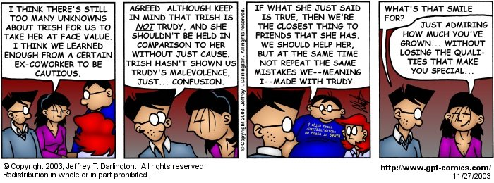 [Comic for Thursday, November 27, 2003]