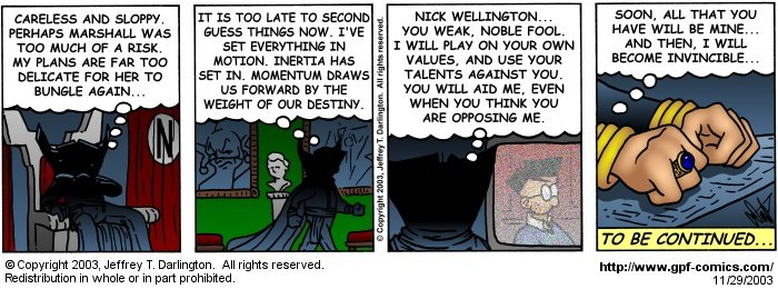 [Comic for Saturday, November 29, 2003]