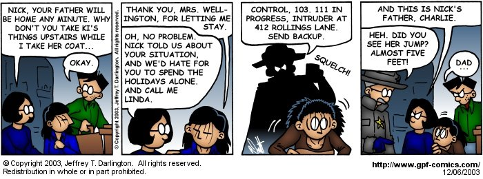 [Comic for Saturday, December 6, 2003]