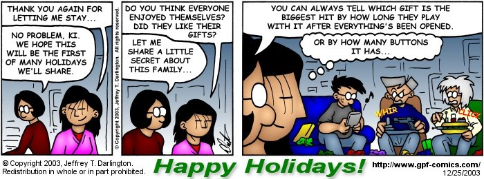 [Comic for Thursday, December 25, 2003]
