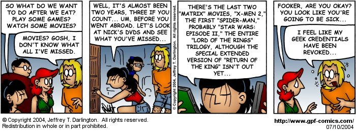 [Comic for Saturday, July 10, 2004]