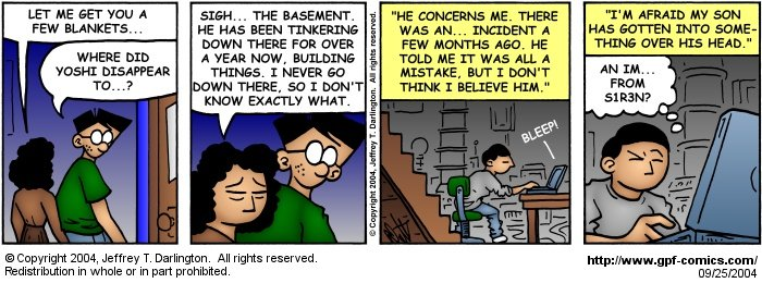 [Comic for Saturday, September 25, 2004]