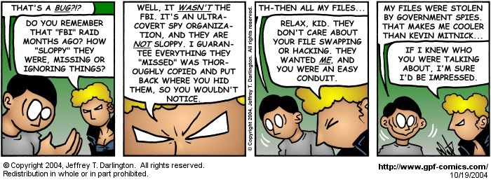[Comic for Tuesday, October 19, 2004]