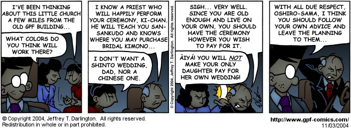 [Comic for Wednesday, November 3, 2004]
