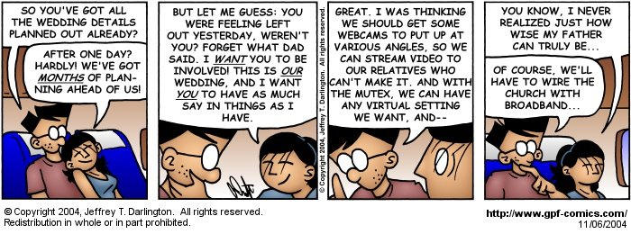 [Comic for Saturday, November 6, 2004]