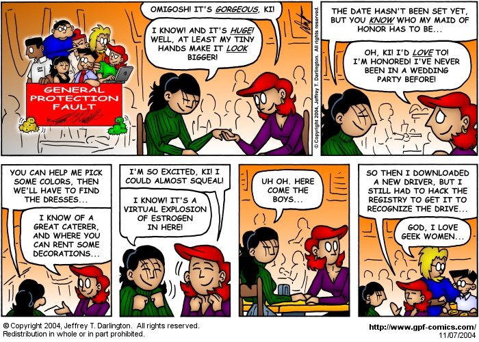 [Comic for Sunday, November 7, 2004]