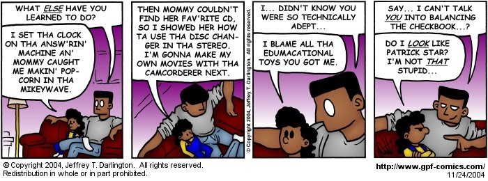 [Comic for Wednesday, November 24, 2004]
