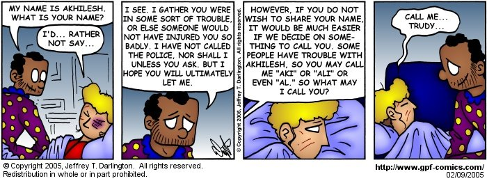 [Comic for Wednesday, February 9, 2005]