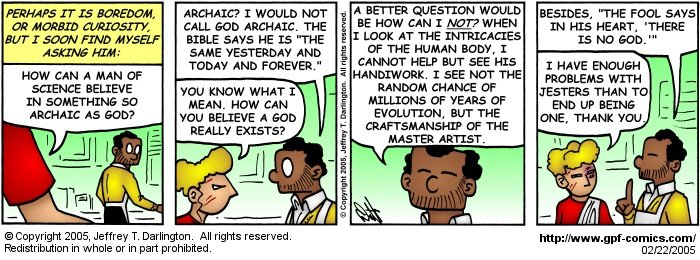 [Comic for Tuesday, February 22, 2005]