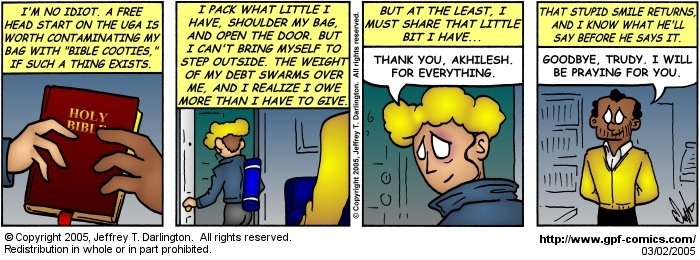 [Comic for Wednesday, March 2, 2005]