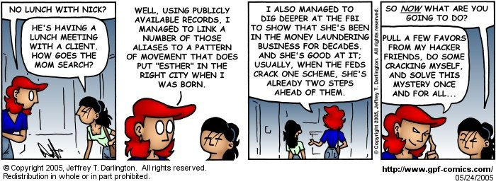 [Comic for Tuesday, May 24, 2005]