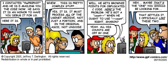 [Comic for Saturday, June 18, 2005]