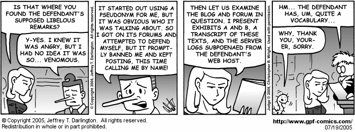 [Comic for Tuesday, July 19, 2005]