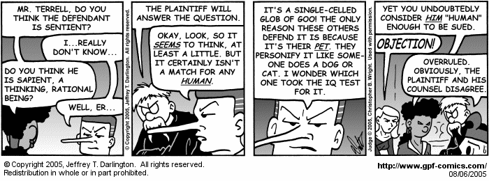 [Comic for Saturday, August 6, 2005]