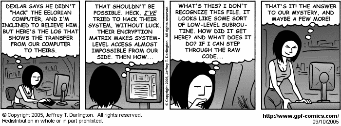 [Comic for Saturday, September 10, 2005]
