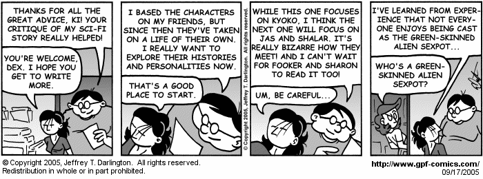 [Comic for Saturday, September 17, 2005]