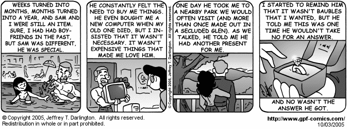 [Comic for Monday, October 3, 2005]
