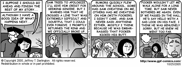 [Comic for Tuesday, October 25, 2005]
