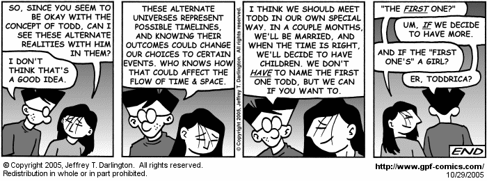 [Comic for Saturday, October 29, 2005]