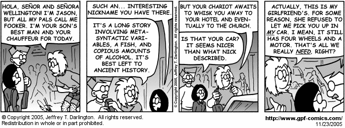 [Comic for Wednesday, November 23, 2005]