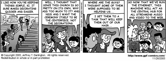 [Comic for Saturday, November 26, 2005]