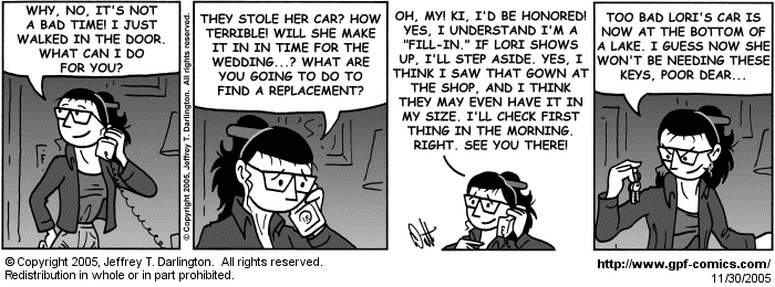 [Comic for Wednesday, November 30, 2005]